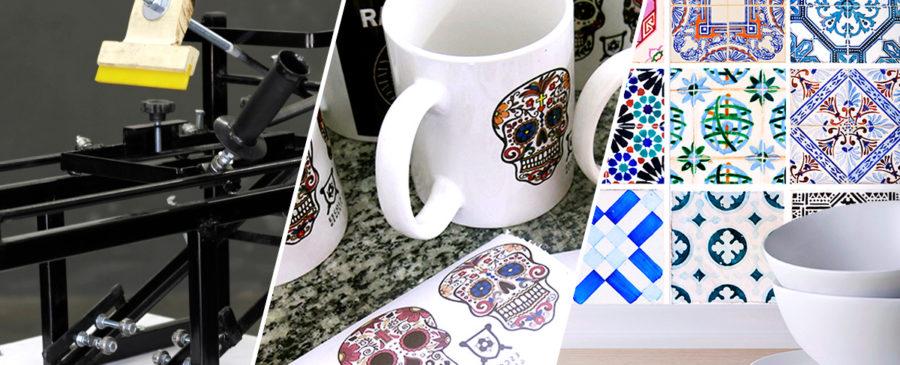 Serigrafia, Sublimação e Fotocerâmica. Qual o melhor processo para personalizar objetos cerâmicos?