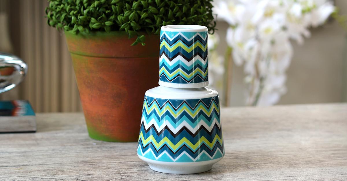 Impressão em porcelana: uma ideia sustentável e moderna